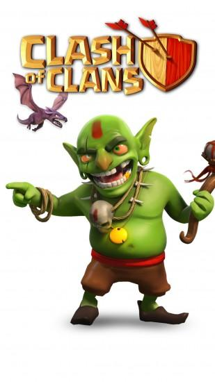 widescreen clash of clans wallpaper 1080x1920