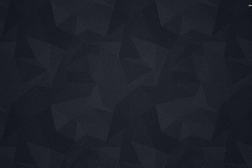 Dark Grey Polygon Wallpaper