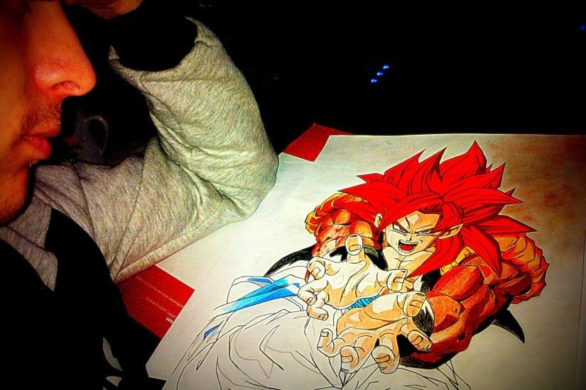 Gogeta SSJ4 by spartanforever2000 Gogeta SSJ4 by spartanforever2000