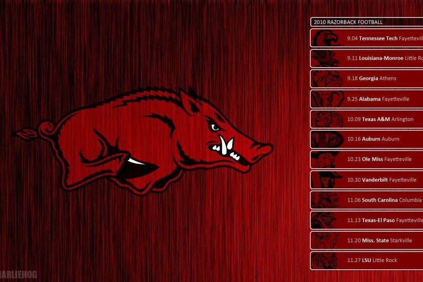 arkansas razorbacks football schedule 2017 wallpaper » Wallppapers .