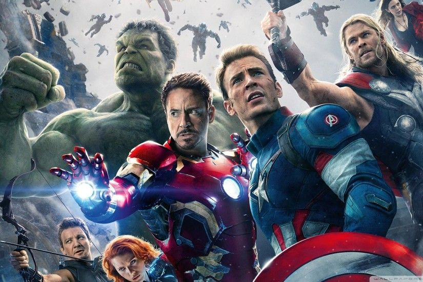 Marvels Avengers Age of Ultron HD Wide Wallpaper for 4K UHD Widescreen  desktop & smartphone
