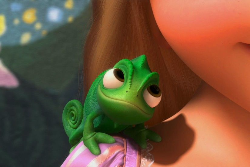 Pascal the Chameleon from Tangled wallpaper - Click picture for high  resolution HD wallpaper