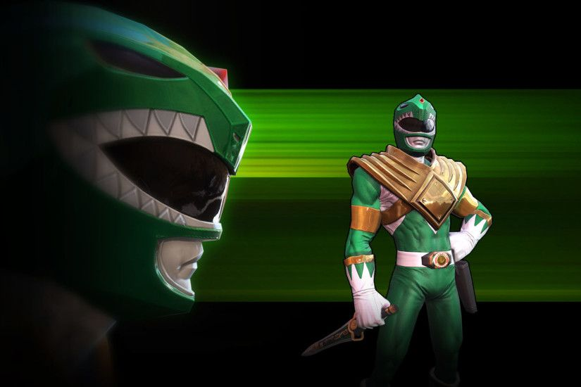 MMPR Green – Character Moves Highlight