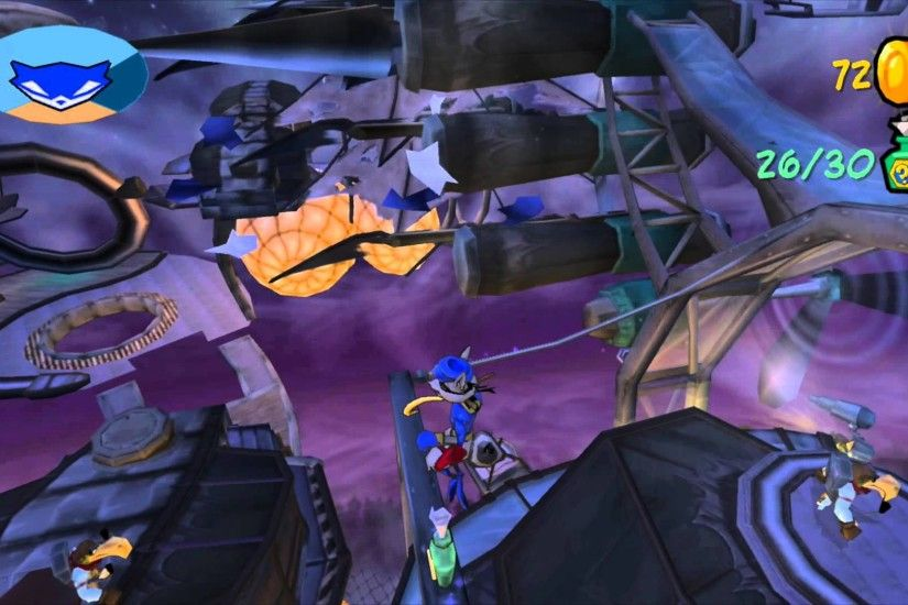 Sly 2: Band of Thieves 100% - #77 - Anatomy for Disaster - Bottle &  Treasure Locations