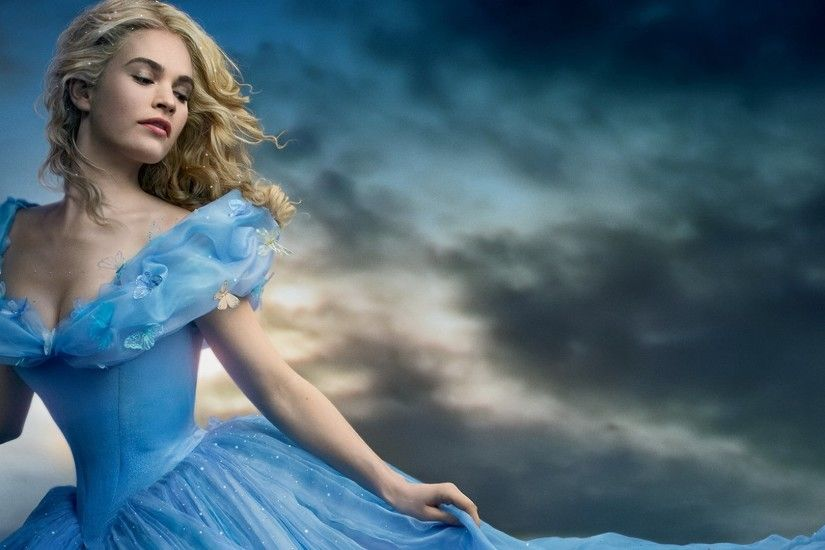 Lily James as Cinderella wallpapers (31 Wallpapers)