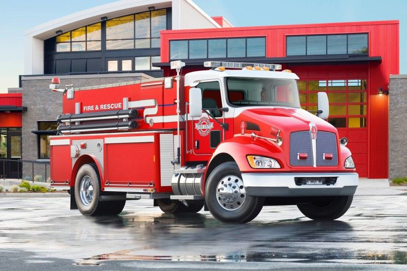 2009 Kenworth T370 Firetruck wallpaper | 2048x1536 | 129873 .
