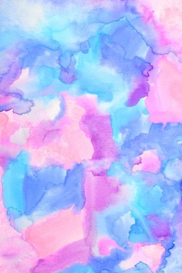 """Ambrosia""- gorgeous free hand painted watercolor iPhone wallpaper."