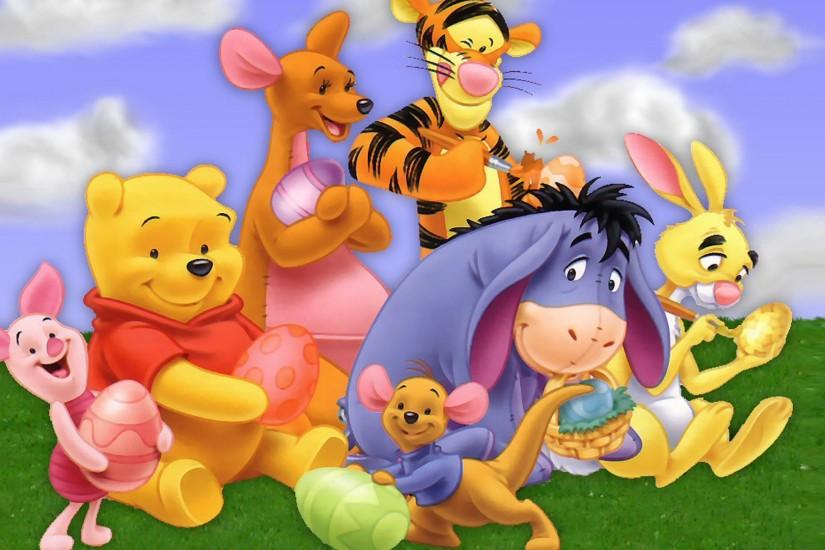 Image - Pooh Wallpaper - Cast HD.jpg | Winniepedia | Fandom powered by Wikia