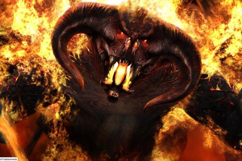 ... My Free Wallpapers - Fantasy Wallpaper : Balrog ...