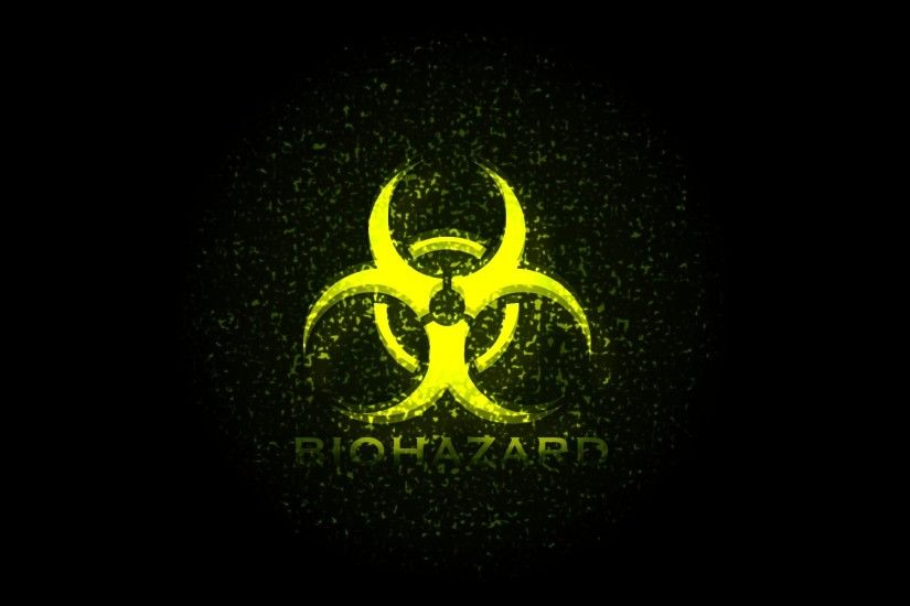 Biohazard Symbol, HD Widescreen Wallpapers For Free
