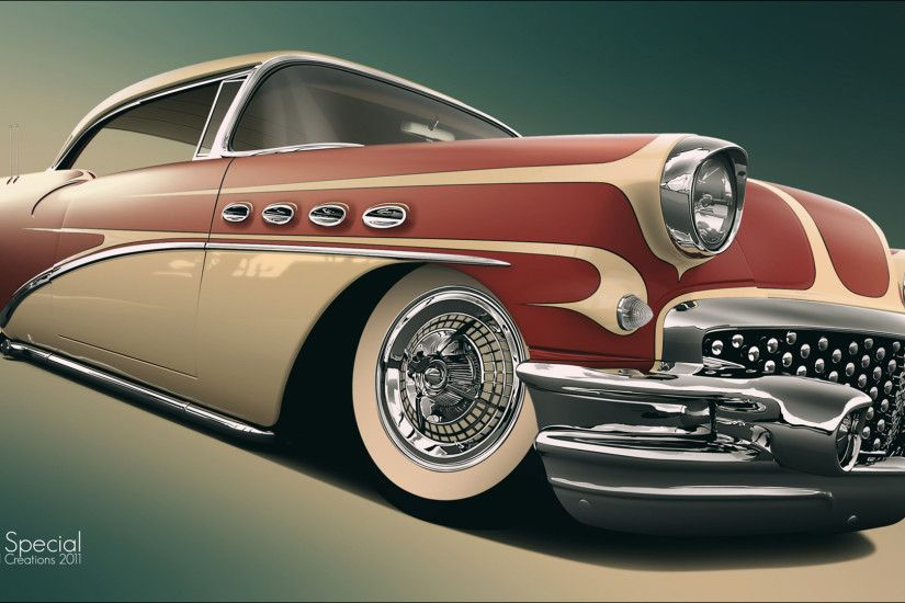 Buick retro art retro lowrider custom wallpaper | 2160x1080 | 124615 |  WallpaperUP