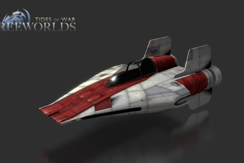 Add media Report RSS A-Wing Normal and Specular Map Render (view original)