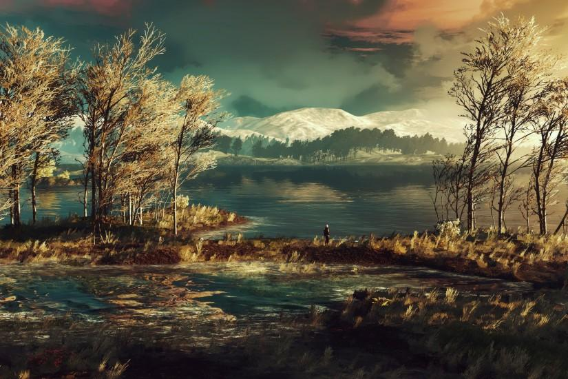 amazing witcher 3 wallpaper 3840x1800 for windows 7