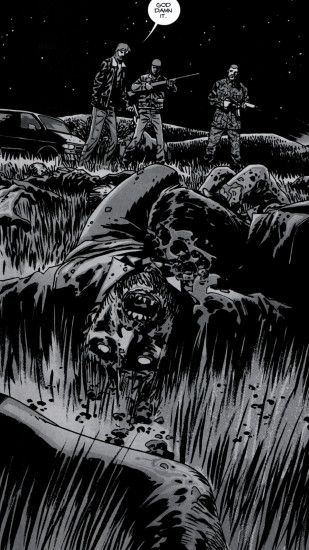 Comics The Walking Dead. Wallpaper 672115