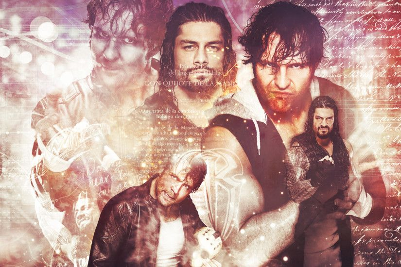 ... Roman Reigns and Dean Ambrose WWE Wallpaper by SmileDexizeR
