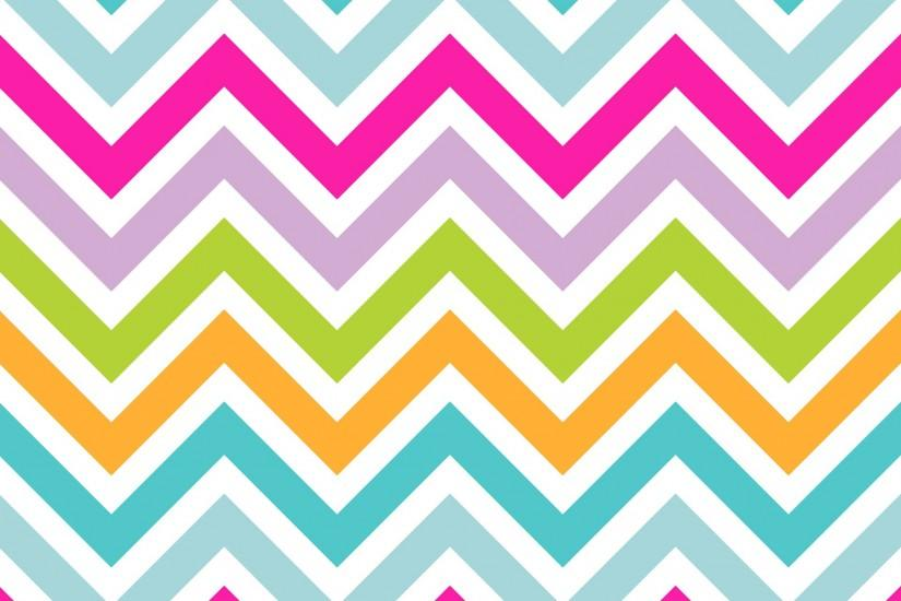 Chevrons Stripe Colorful Background