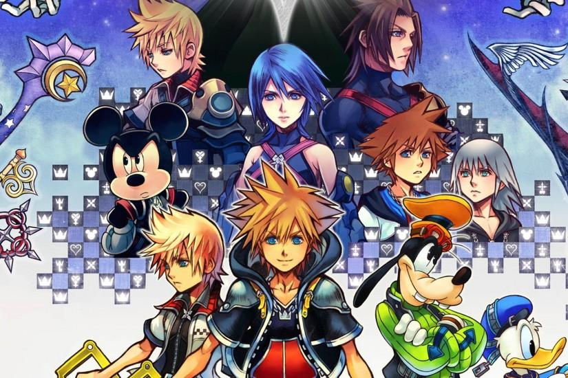 ... Kingdom Hearts 2.5 Wallpaper by The-Dark-Mamba-995
