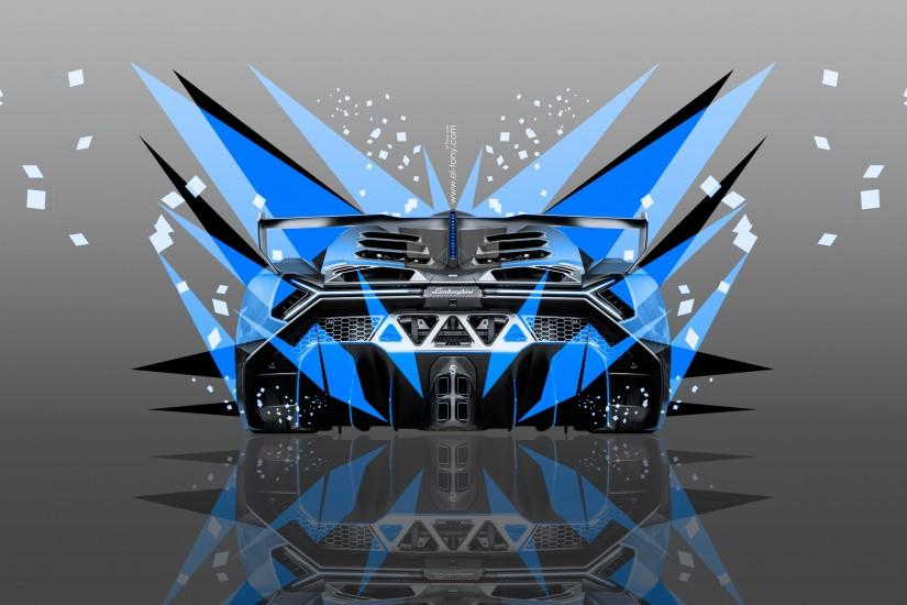 Lamborghini-Veneno-Back-Abstract-Transformer-Car-2014-Blue-