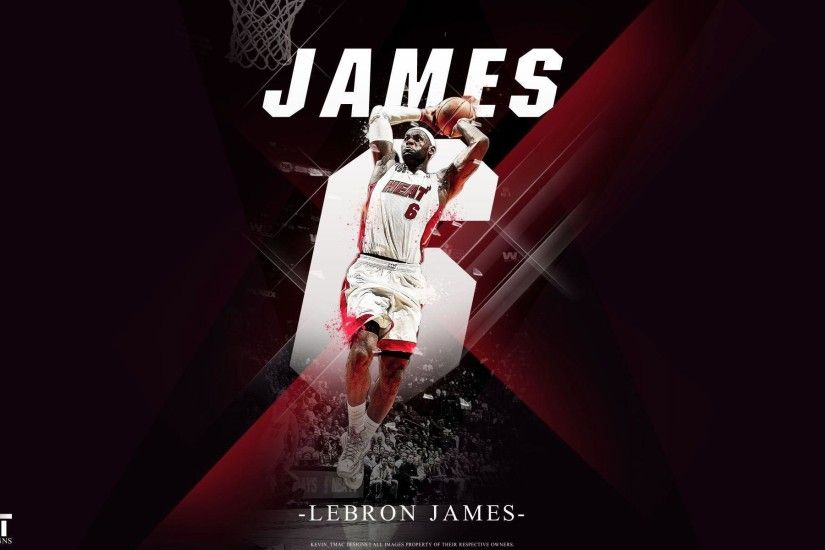 Free Wallpapers - LeBron James Miami Heat Dunk wallpaper