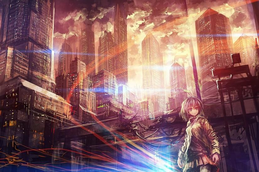 Anime City Wallpaper High Resolution Free Download Wallpapers Background  1920x1080 px 585.78 KB Anime City Action
