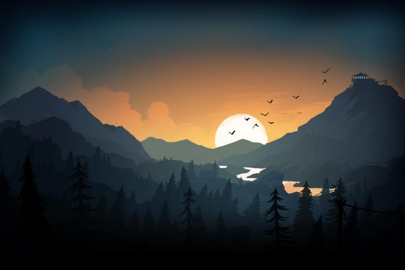 download firewatch wallpaper 1920x1080