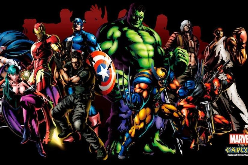 Marvel Superhero Wallpaper 22156 Wallpapers | wallpaperhdcollection.