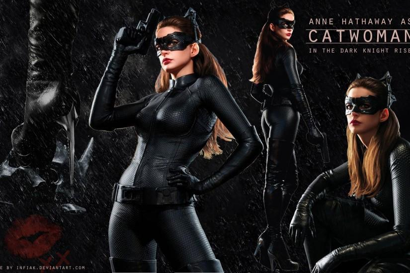 The Dart Knight Rises Catwoman wallpaper by Infiak on deviantART