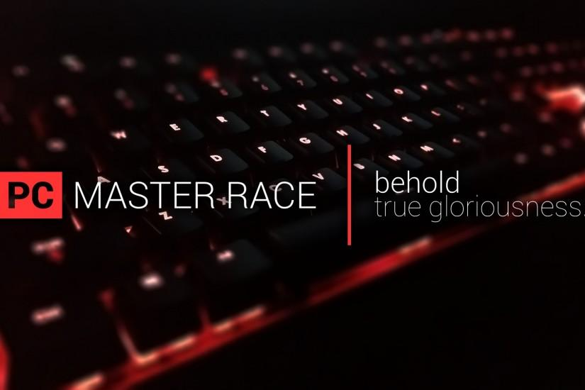 full size pc master race wallpaper 1920x1080 image