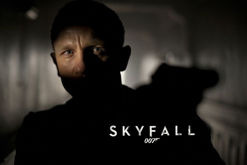 James Bond Skyfall 007 Gun wallpapers and stock photos