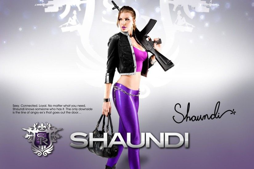 Shaundi Saints Row the Third Wallpapers - Click on the Picture for the  details