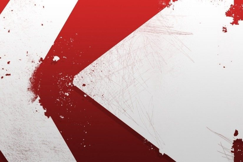 Red And White Wallpaper