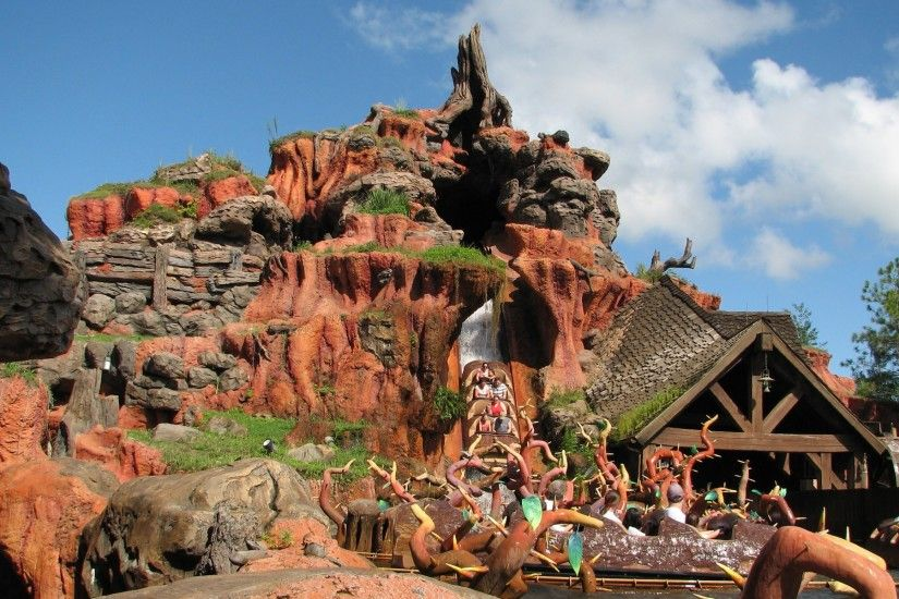 Splash Mountain - Walt Disney World wallpaper, Splash Mountain - Walt Disney  World World HD desktop wallpaper