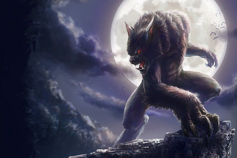 Werewolf HD Wallpapers Backgrounds Wallpaper