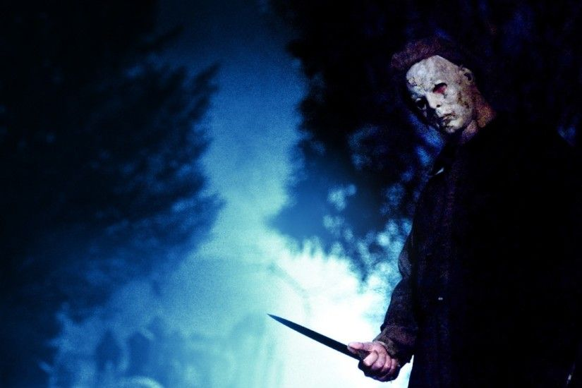 1920x1080 Wallpaper michael myers, maniac, killer, knife, mask, fear, horror