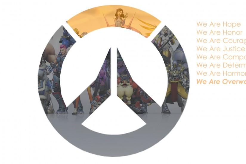 ... We Are Overwatch - Wallpaper by FireMinnie