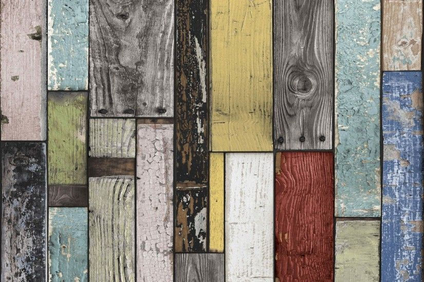 Painted Wooden Planks Wallpaper - B&Q for all your home and garden supplies  and advice on all the latest DIY trends