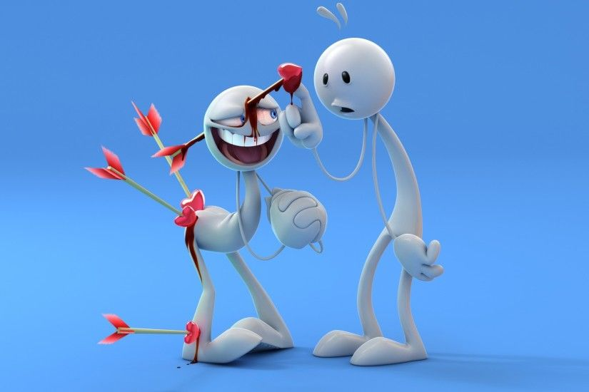 Funny Love Cartoon Images HD Wallpapers