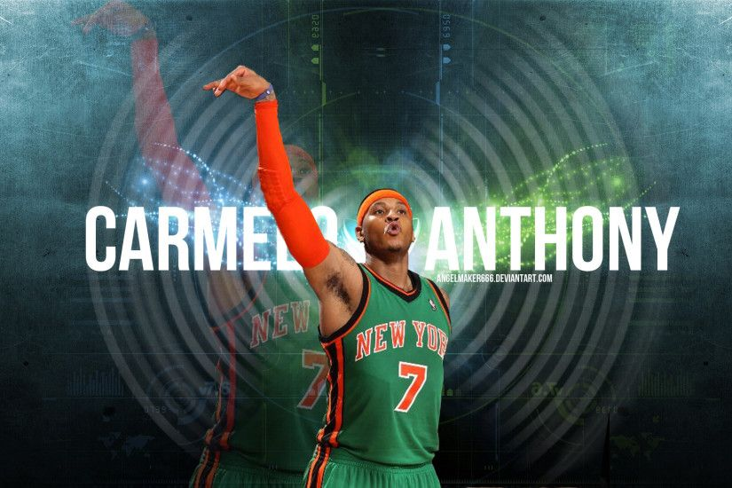 Carmelo Anthony NYC Wallpaper by IshaanMishra Carmelo Anthony NYC Wallpaper  by IshaanMishra