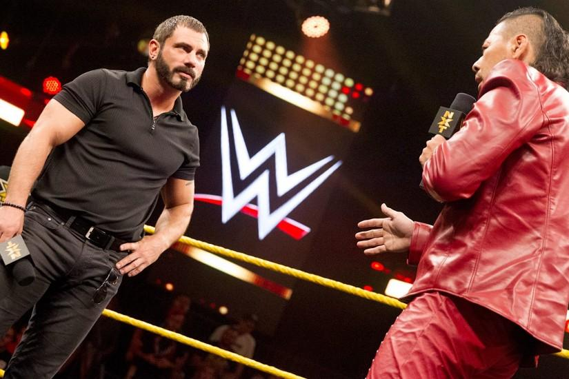 Austin Aries and Shinsuke Nakamura argue over who will be next NXT Champion