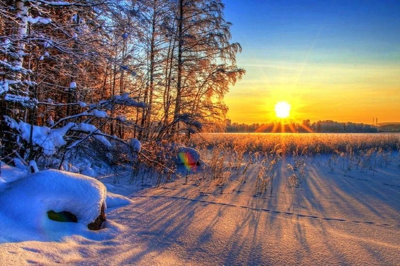 ... Scenery Snow Holidays Wallpaper. 2560x1440. Xmas Tag - Sunset Shining  Winter Xmas New Year Photography Sunsets Softness Beauty Sun Love Four