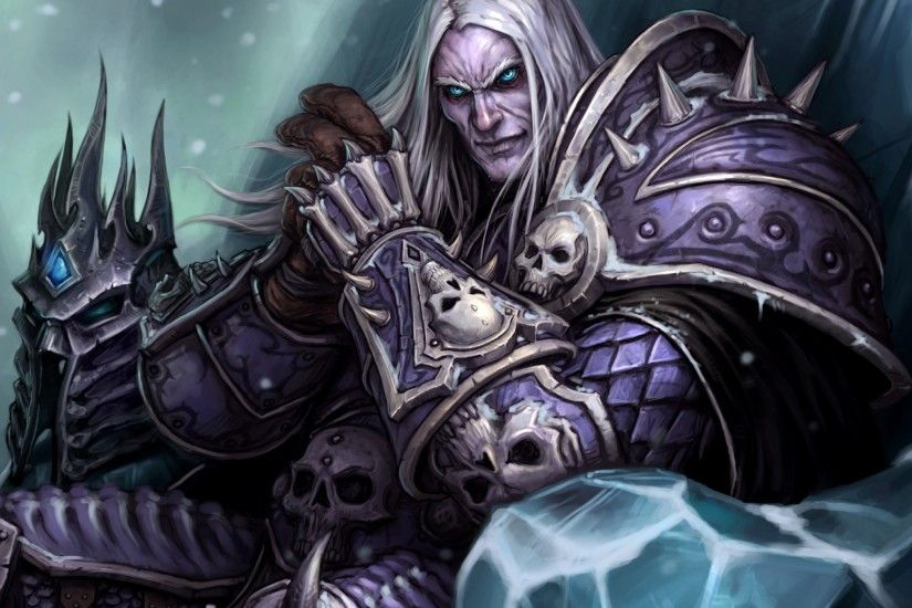 2048x2048 Wallpaper the lich king, world of warcraft wrath of the lich king,  world