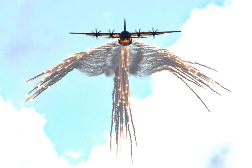 27 Lockheed C-130 Hercules HD Wallpapers | Background Images - Wallpaper  Abyss