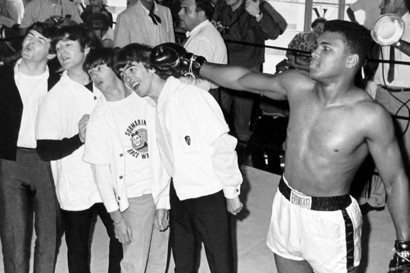 The Beatles With Muhammad Ali for 1920x1080