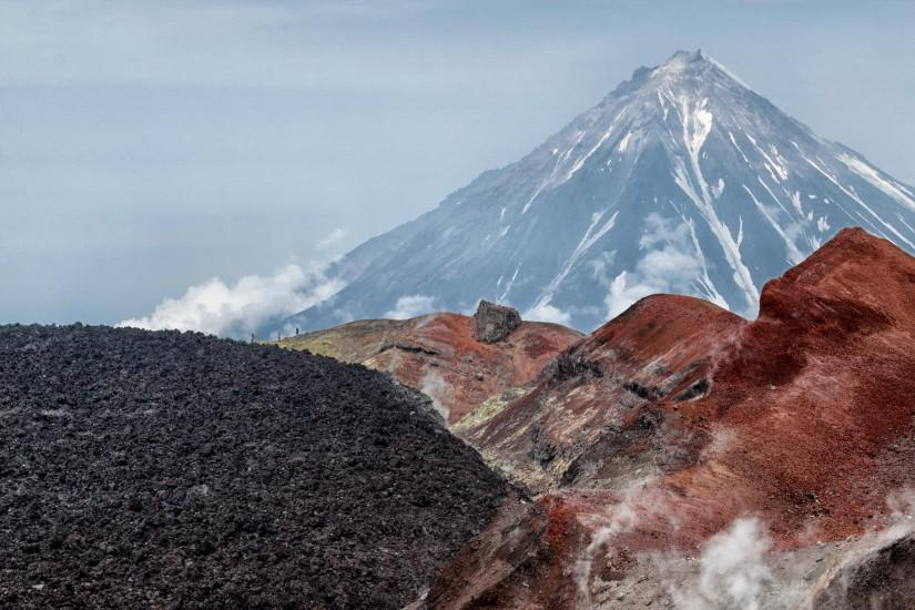 Russia Mountains Kamchatka Volcano Nature wallpaper | 3200x1800 | 632958 |  WallpaperUP