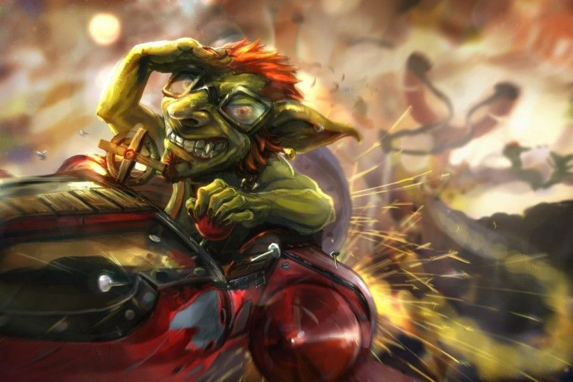 Preview wallpaper hearthstone, hearthstone heroes of warcraft, catapult,  goblin, dwarf 1920x1080