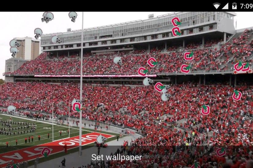 Buckeye Football Live Wallpaper National Champions DroidLoft
