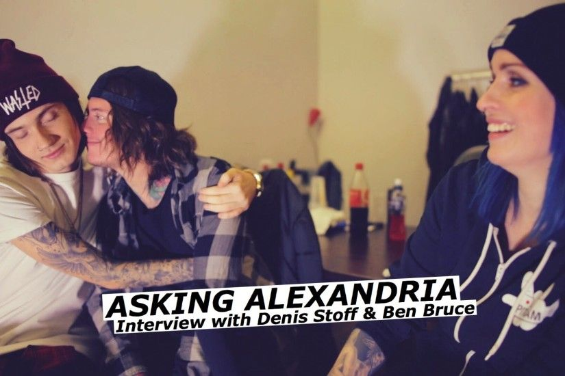 ASKING ALEXANDRIA interview with Denis Stoff & Ben Bruce | www.pitcam.tv -  YouTube