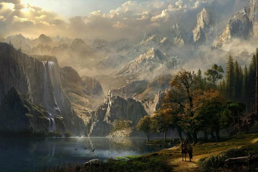HD Wallpaper | Background ID:152779. 2558x1550 Fantasy Landscape. 90 Like.  Favorite