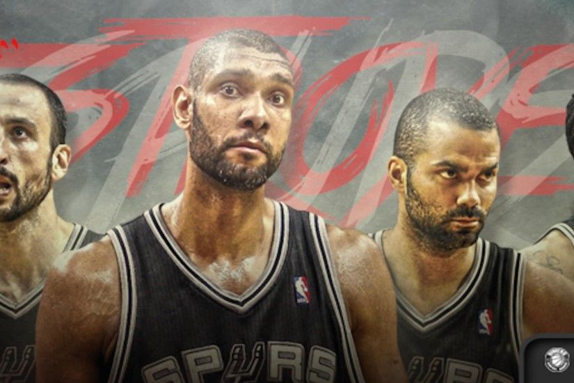 Spurs 2014 champs/stars from left: Manu Ginobili, Tim Duncan, Tony Parker
