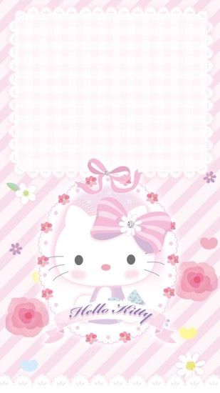 Iphone Wallpapers, Hello Kitty, Iphone Backgrounds